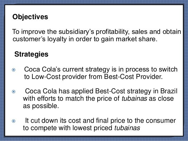 coca cola's marketing challenges in brazil While providing us with opportunity, this footprint also challenges  our vision is  to be the undisputed beverage leader in every market in which we compete   following various managerial positions in mexico, brazil and.