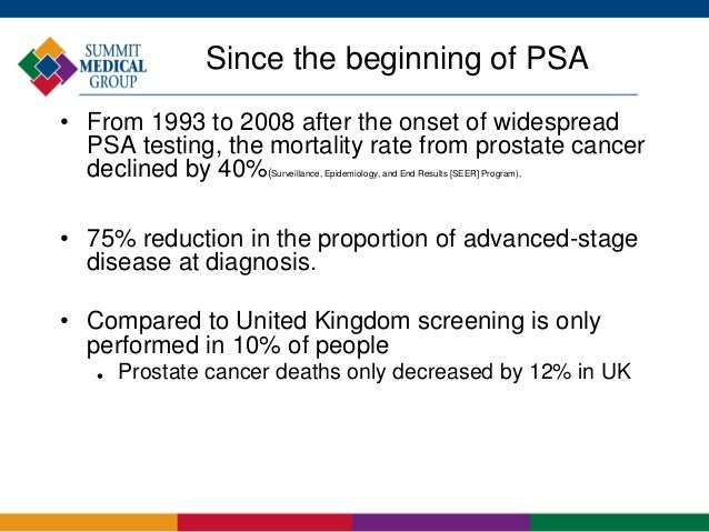 prostate cancer screening guidelines uk