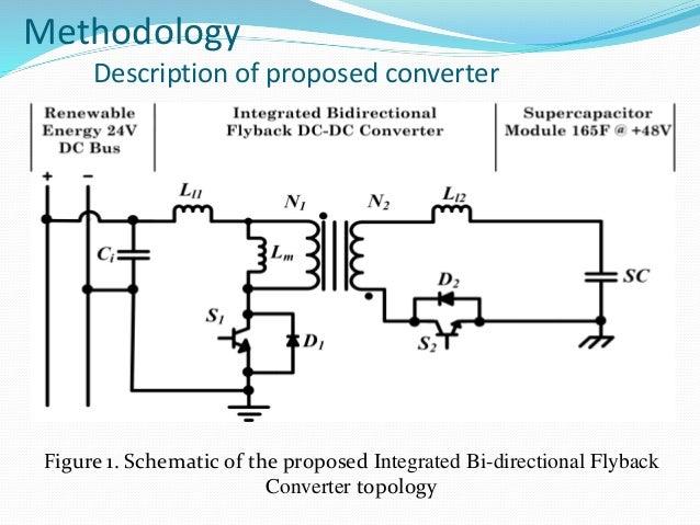 Bi-directional Flyback DC-DC Converter
