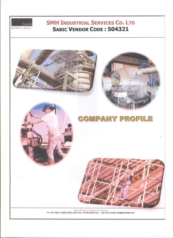 YES YEM YECH INDUSTRIAL SERVICES CO. LTD (SMH)                                    COMPANY PROFILE                         ...