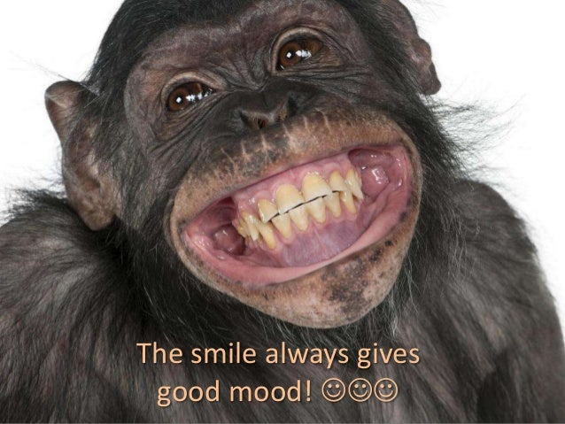 The smile always gives good mood! 