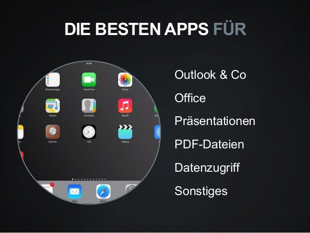 die besten ipad apps f r den unternehmenseinsatz. Black Bedroom Furniture Sets. Home Design Ideas