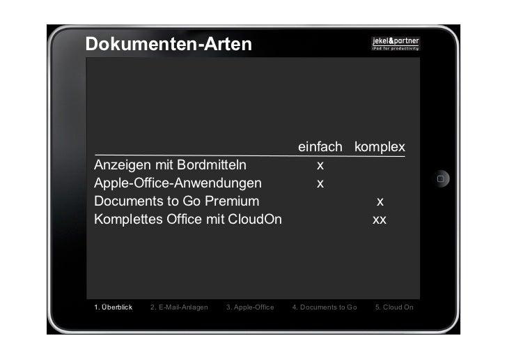 Dokumenten-Arten                                                      einfach komplexAnzeigen mit Bordmitteln             ...