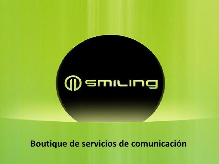 Boutique de servicios de comunicación