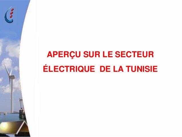 SITUATION ET PERSPECTIVES DE DEVELOPPEMENT DES ENERGIES  RENOUVELABLES   ET DE L'EFFICACITE ENERGETIQUE A LA STEG Slide 3