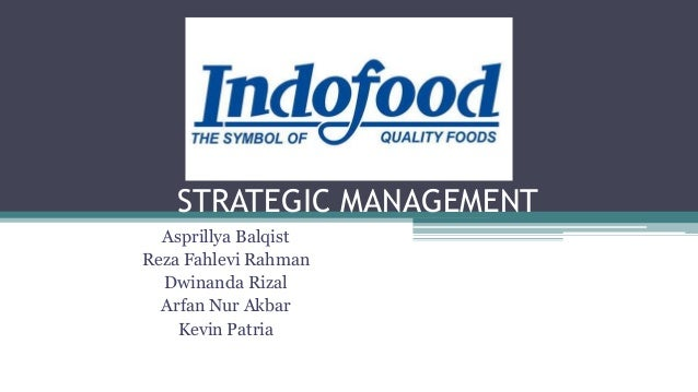 strategic management4 assignment olhoff Strategic management assignment this plan is a strategic management tool that has been developed by management itself so that the organization can perform well.