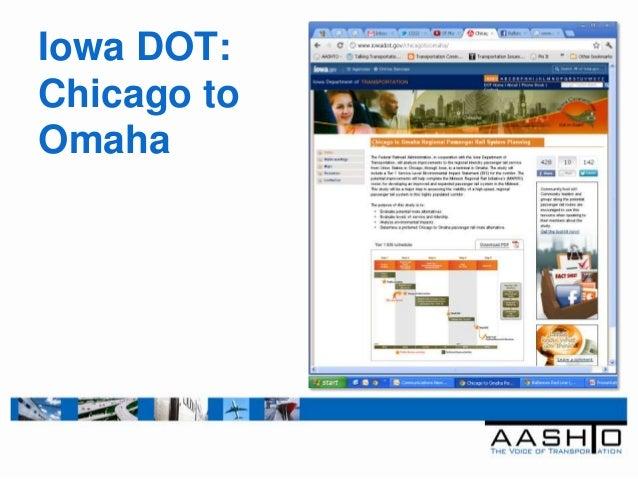 Iowa DOT:Chicago toOmaha