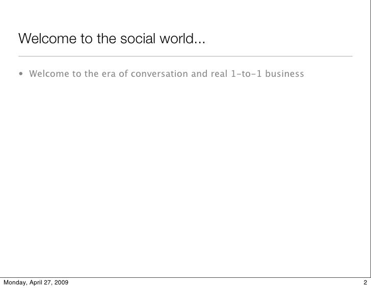 Social Media Principles II Slide 3