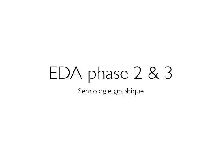 EDA phase 2 & 3    Sémiologie graphique