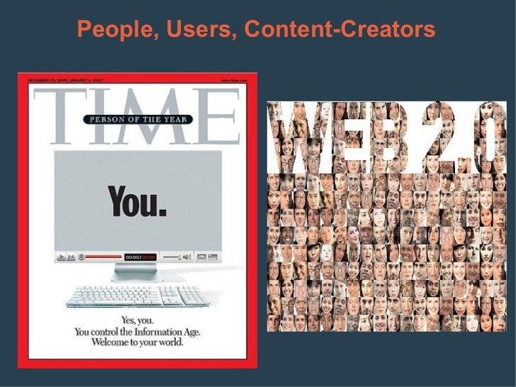 People, Users, Content-Creators