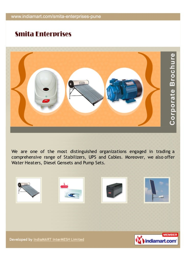 We are one of the most distinguished organizations engaged in trading acomprehensive range of Stabilizers, UPS and Cables....