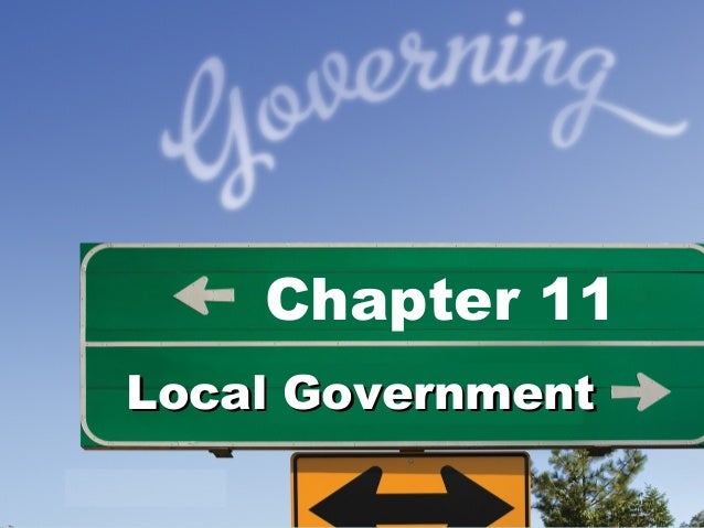 Chapter 11Local Government