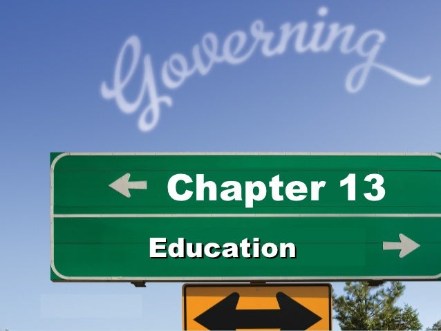 Chapter 13Education