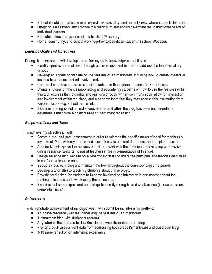 Internship Contract Template Akbaeenw