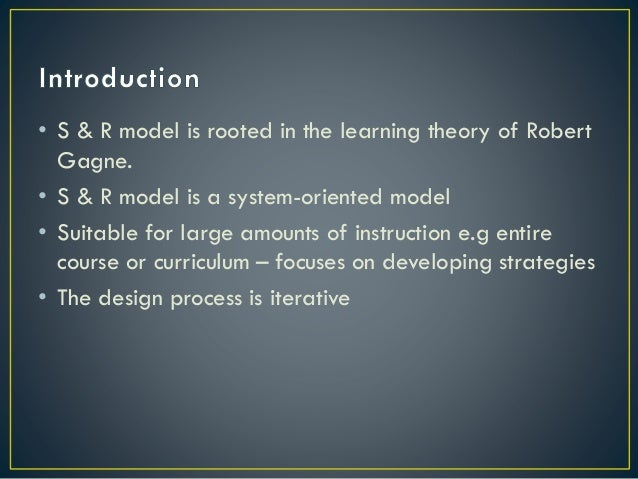 Smith Ragan Instructional Design Theory