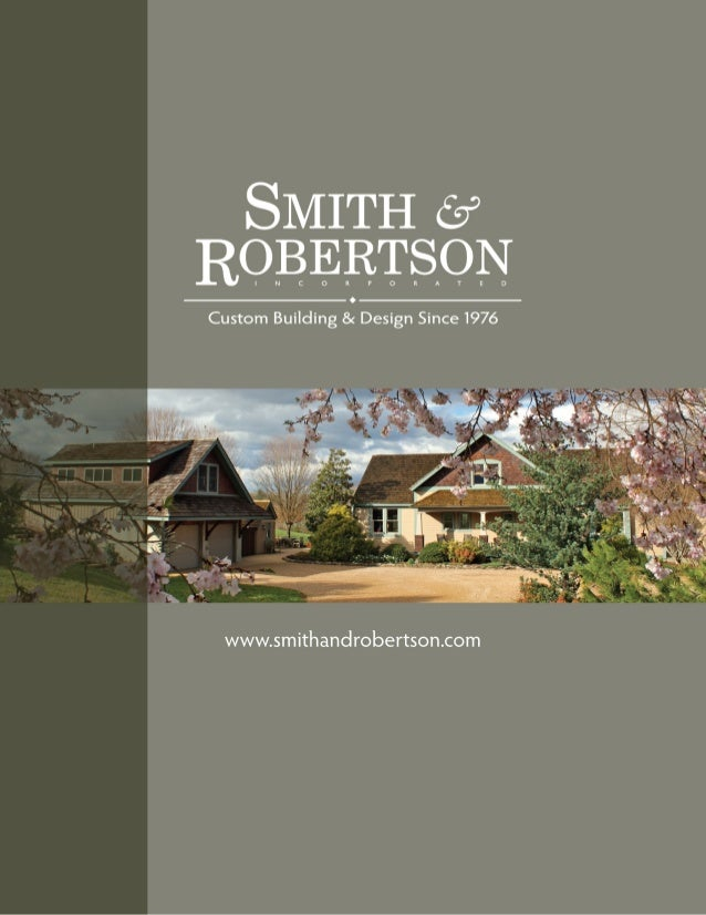 Smith & Robertson brochure