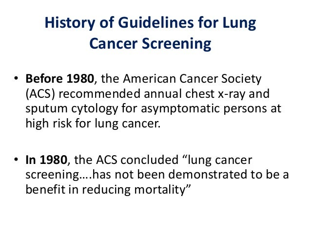 conclusion about lung cancer