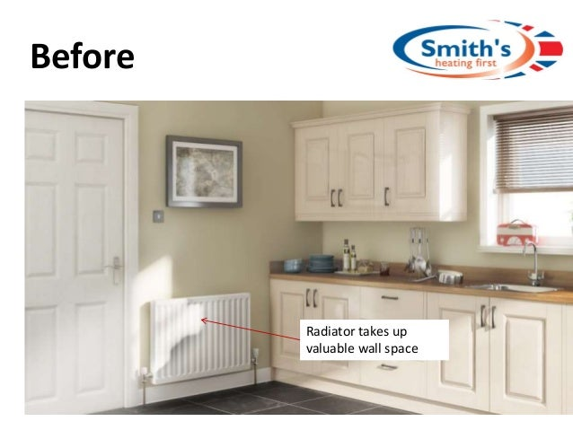 Before Radiator takes up valuable wall space