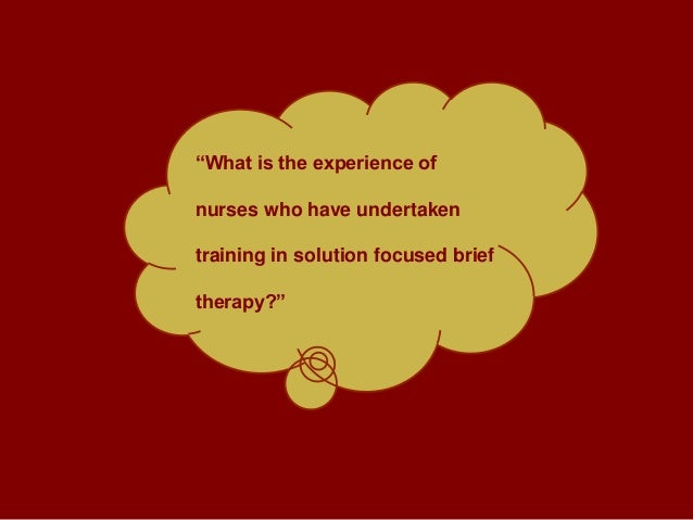 solution focused therapy for children essay A brief history on solution-focused brief therapy is given,  solution-focused therapy with children new york:  ris papers reference manager refworks.