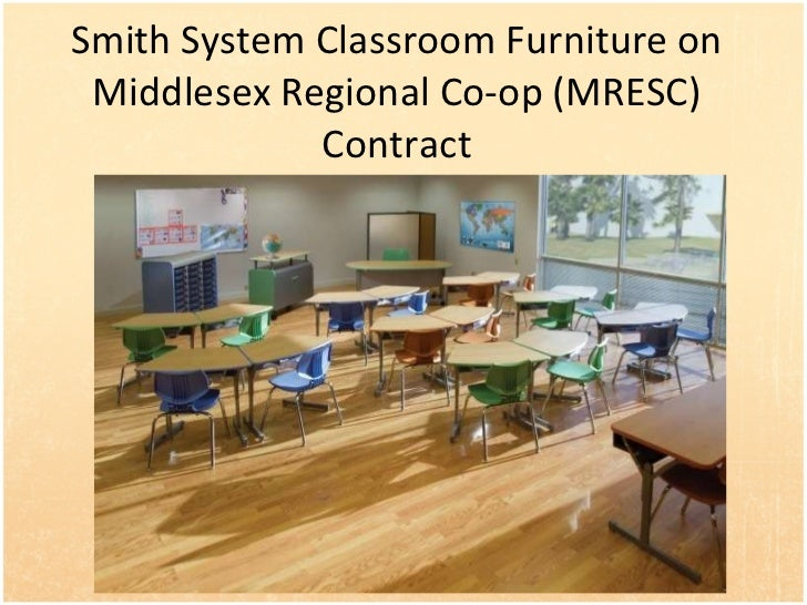 Smith System Classroom Furniture on Middlesex Regional Co-op (MRESC) Contract