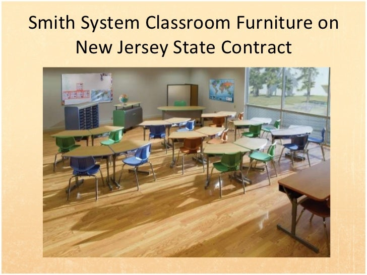 Smith System Classroom Furniture on New Jersey State Contract