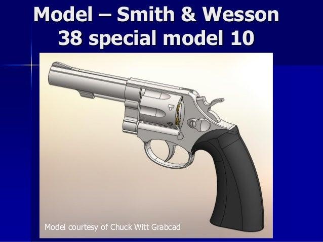 38 calibur revolver Solidworks Simulation