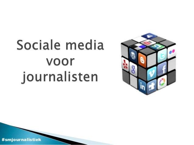 #smjournalistiek