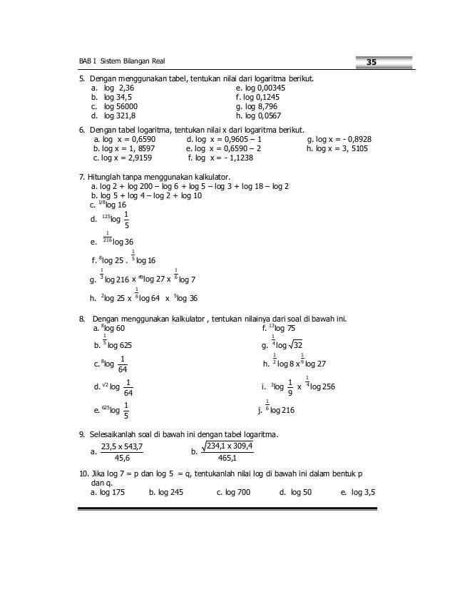 Matematika Smk Kelas X