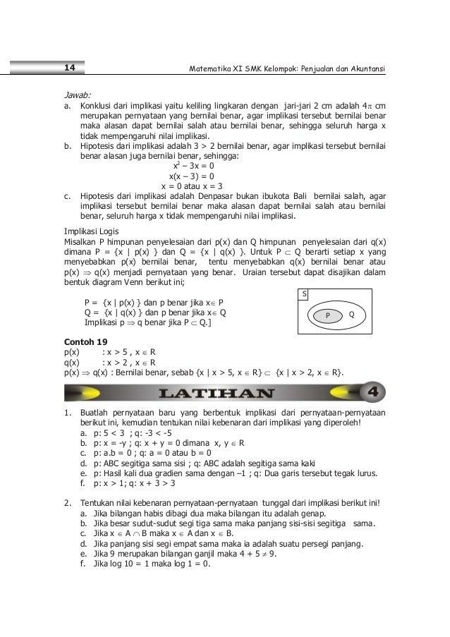Matematika Smk Kelas Xi