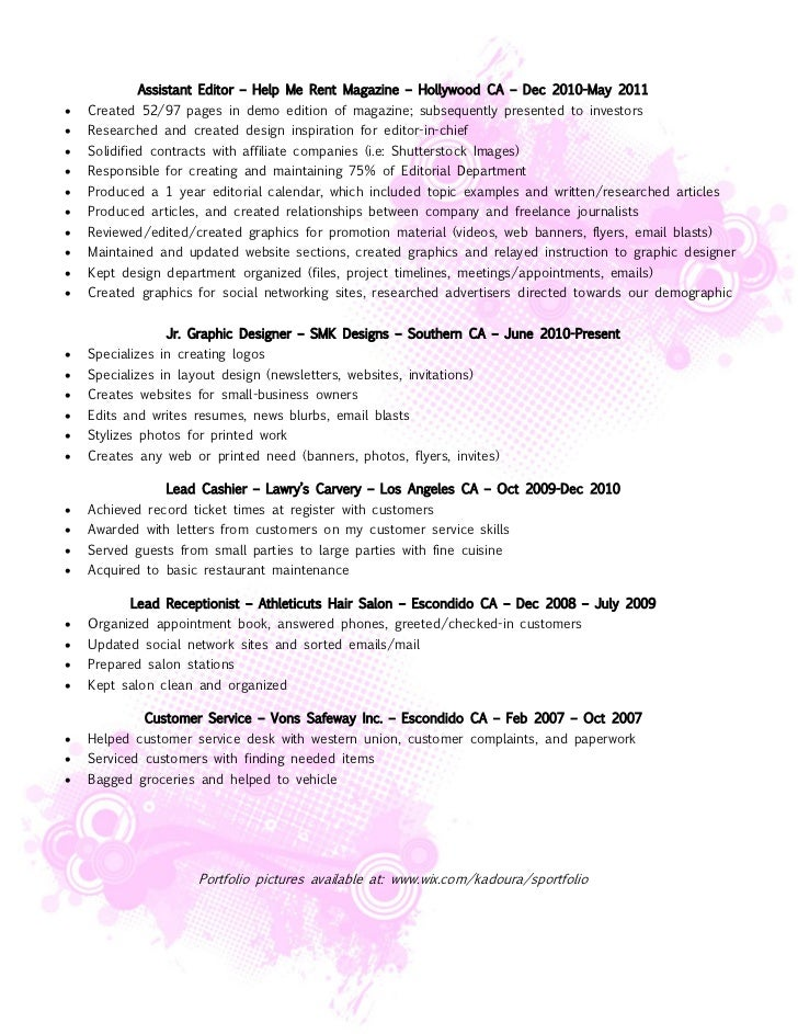 Editor In Chief Resume. managing editor resume sample template ...