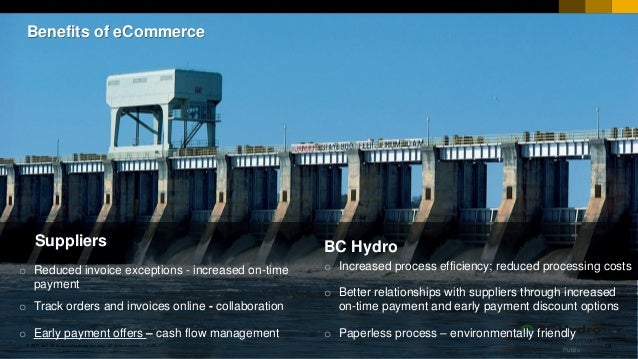 Early Payment Discounts: Market Trends and Results at BC Hydro