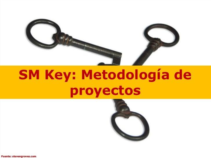 SM Key: Metodología de                 proyectosFuente: stevengroves.com