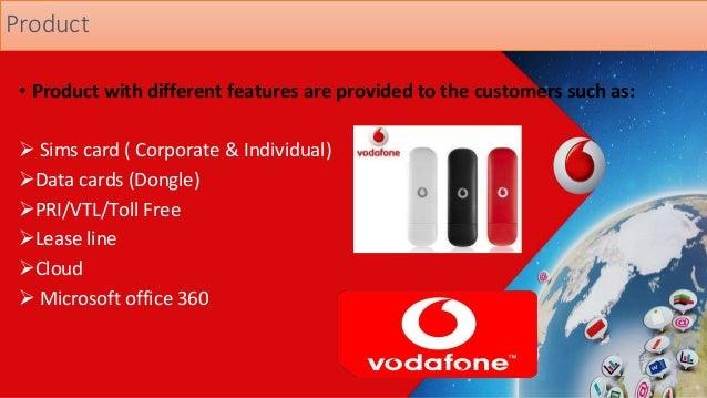 Vodafone Marketing Mix