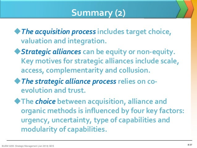 stragetic alliances mgt 330 essay Although social interactions and exchanges between partners are emphasized as imperative for alliance success, comprehensive examination of how social exchanges facilitate learning and knowledge transfer in strategic alliances is lacking drawing on social exchange theory, we examined the effects of.