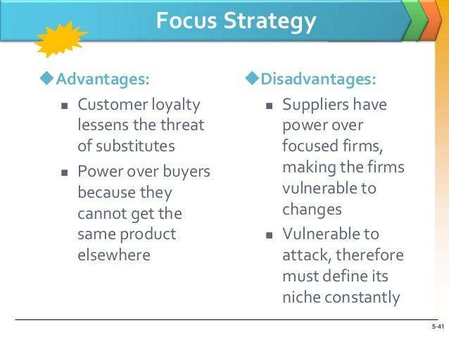 porter generic strategies disadvantage Porter's generic strategies describe how a company pursues competitive  advantage  a cost leadership strategy may have the disadvantage of lower  customer.
