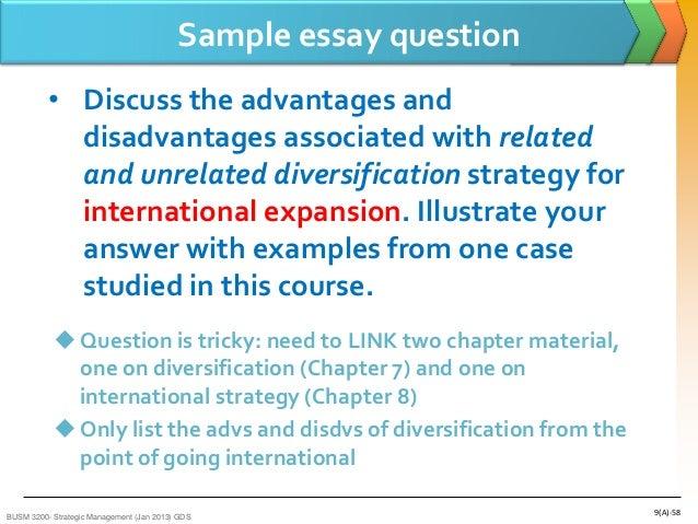 essays relating to intercontinental marketing