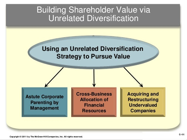 shareholder value essay