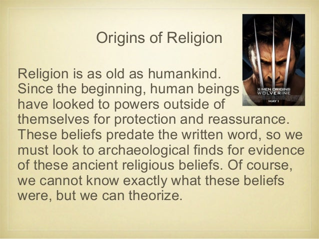 Introduction to world religions 8 origins of religion fandeluxe Image collections
