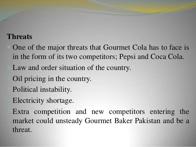 gourmet cola marketing plan The communication plan is adapted regarding the market, the society, the potential, the product positioning etc coca cola is willing to be close to its consumers, to be part of their daily life, to become a kind of ritual attached to specific moments for that, they use social media and social marketing through social responsibility for example, creating emotions and feeling of affiliation .