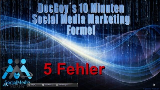 11.03.14 5 Fehler5 Fehler docgoy Twitt.Erfolg Twitt-Erfolg.de
