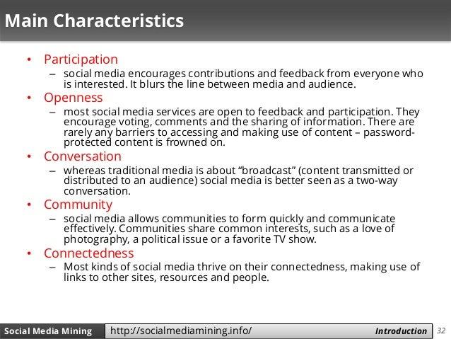 32Social Media Mining Measures and Metrics 32Social Media Mining Introductionhttp://socialmediamining.info/ Main Character...
