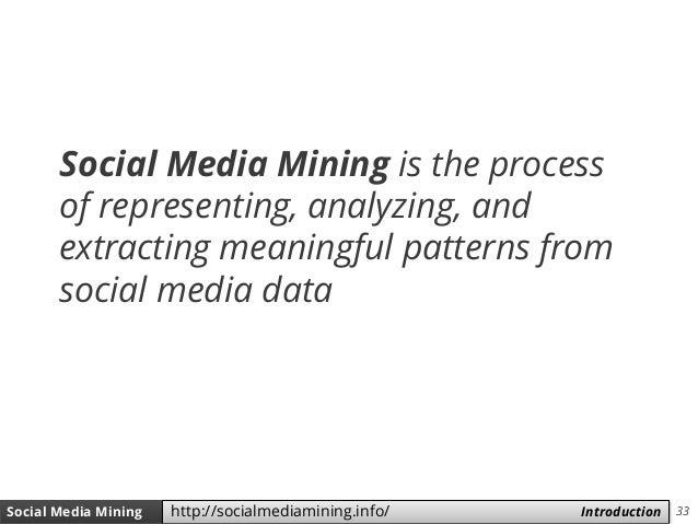 33Social Media Mining Measures and Metrics 33Social Media Mining Introductionhttp://socialmediamining.info/ Social Media M...