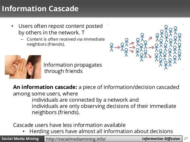 27Social Media Mining Measures and Metrics 27Social Media Mining Information Diffusionhttp://socialmediamining.info/ Infor...