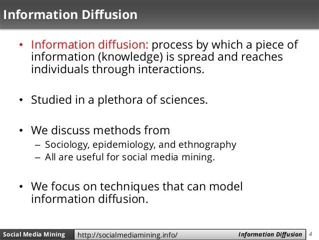 4Social Media Mining Measures and Metrics 4Social Media Mining Information Diffusionhttp://socialmediamining.info/ Informa...