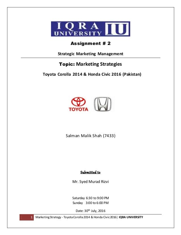 toyota marketing strategy Toyota industry analysis, toyota micro environment, toyota macro environment, toyota swot analysis, toyota pest analysis, toyota segmentation, targeting, positioning strategy, toyota prius, product by tosajidsaeed in types  business/law, targeting, and toyota prius.