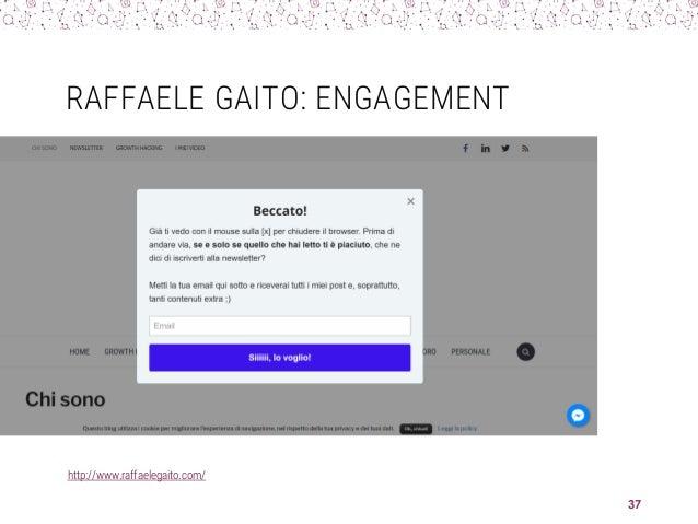 RAFFAELE GAITO: ENGAGEMENT http://www.raffaelegaito.com/ 37
