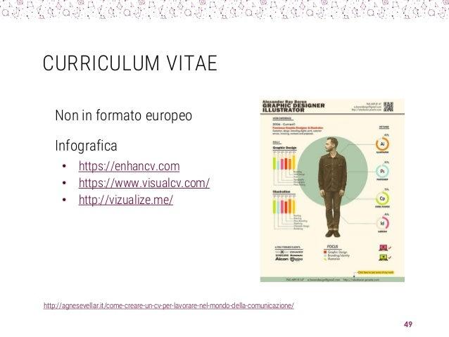CURRICULUM VITAE http://agnesevellar.it/come-creare-un-cv-per-lavorare-nel-mondo-della-comunicazione/ 49 Non in formato eu...