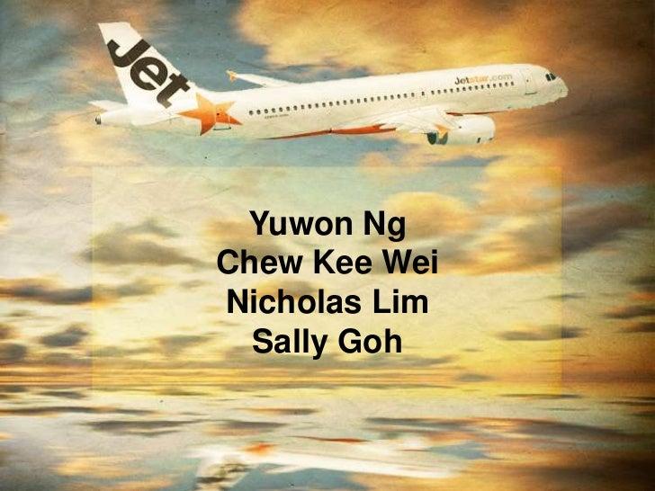 Yuwon NgChew Kee WeiNicholas Lim  Sally Goh