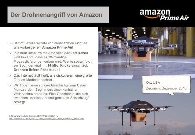 Der Drohnenangriff von Amazon  > Stimmt, etwas konnte vor Weihnachten nicht an  uns vorbei gehen: Amazon Prime Air! > In e...