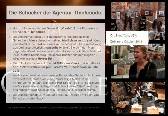 """Die Schocker der Agentur Thinkmodo > Horror-Marketing für den Gruselfilm """"Carrie"""" (Sony Pictures) von  der Agentur Thinkmo..."""
